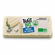 Brique au lait de chèvre biologique pasteurisé 150G