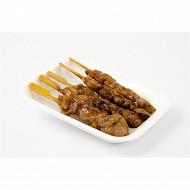 Brochette de poulet ( par 5 ) 145g