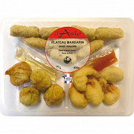 Plateau mandarin avec sauces pn 430g