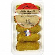 Nem poulet + sauces X4 350g
