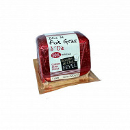 Feyel bloc de foie gras d'oie 50% morçeaux pain sous vide trapèze de 320g