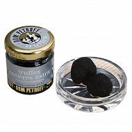 Truffes noires entières extra bocal 12,5G