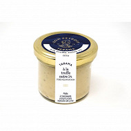 Tarama à la truffe noire 1% tuber melanosporum 80g