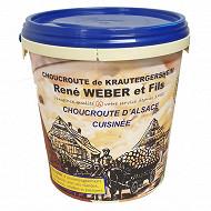 Choucroute d'Alsace cuite certifiée IGP