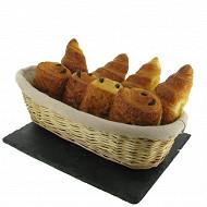 Duo 4 croissants + 4 pains chocolat