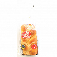 Brioche tressée pur beurre Label Rouge 400g