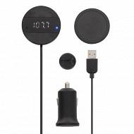 T'nb Transmetteur FM Bluetooth + kit mains libres FMCT03BT
