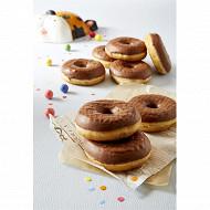 Donuts chocolat x8