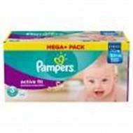 Pampers active fit couches bébé T3 x100 mega pack