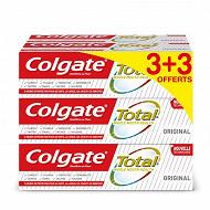 Colgate total dentifrice 4x6x75ml gv 3+3