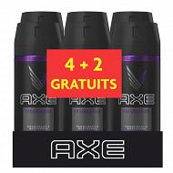 Axe déodorant homme spray anti-transpirant provocation 6x150ml (4+2 grt)