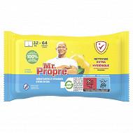 Mr Propre lingettes citron x64
