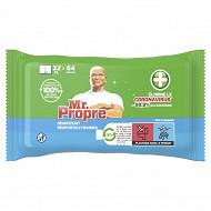 Mr Propre lingettes antibactériennes x64