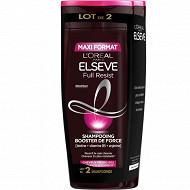 Elseve full resist shampooing B400 x2