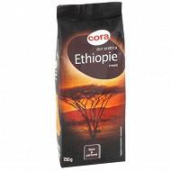 Cora café moulu pur arabica Ethiopie 250g