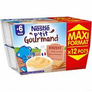 Nestlé p'tit gourmand biscuit maxi format 1200g