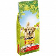Friskies croquettes chien active riche en viandes 18kg