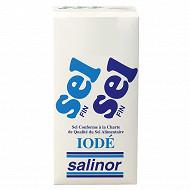 Salinor étui carton sel fin 1kg