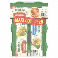 Blédina idées de maman 2 légumes verts boulghour dinde 6 bols x 200g 1200g
