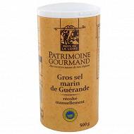 Patrimoine gourmand gros sel marin de Guérande 500g