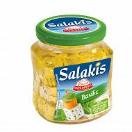 Salakis bocal basilic fromage au lait pasteurisé de brebis 300g