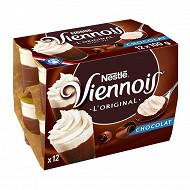 Nestlé Le Viennois dessert lacté au chocolat 12x100g
