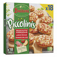 Buitoni piccolinis jambon fromage x18 540g