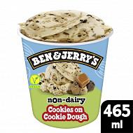 Ben & Jerry's pot dessert glace cookies on cookie dough 465ml - 406g