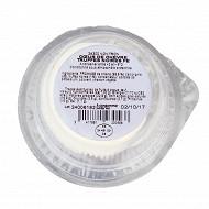 Coeur de chèvre truffes noires 60g - lait pasteurisé