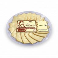 Assiette raclette 18 tranches au lait cru 31% mg/pt540g