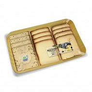 """Raclette 360g 3 saveurs """"ail des ours - fumée - ortie"""""""
