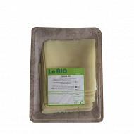 Tranches gouda bio 150g lait de vache pasteurisé 28%mg/poids total