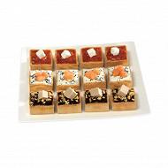 Assortiment collection 12 mini croquants frais 180g