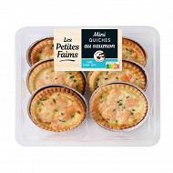 Mini quiches saumon x6 300g bigard