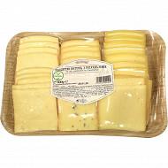 Fromage pour raclette nature poivre moutarde 800g