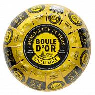 Boule d'or mimolette france excellence 24 mois  lait pasteurisé