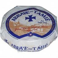 Fromage de l'Abbaye de Tamié  lait cru 26%mg/poids total