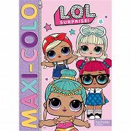Coloriage - Lol surprise ! : maxi colo