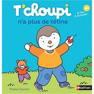 Album jeunesse - T'choupi n'a plus de tétine