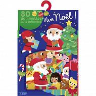 Gommettes - Vive Noël ! : 80 gommettes autocollantes