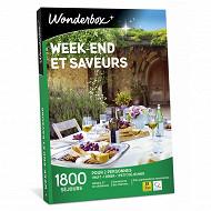 Coffret Wonderbox Week end et saveurs