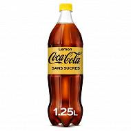 Coca cola zero lemon pet 1.25l