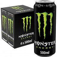 Monster energy boite 4x500ml