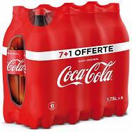 Coca-Cola contour pet 7x1.75l + 1 bouteille offerte