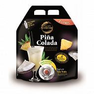 Pina Colada boisson sans alcool à base de jus concentré d'ananas et de lait de noix de coco 3l