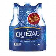 Quezac eau minerale naturelle gazeuse 6x1.15l