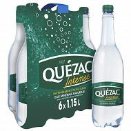Quezac eau minérale naturelle gazeuse intense 6x115 cl
