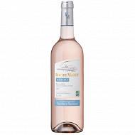 Roche mazet terra vitis vin de Pays d'Oc IGP merlot rosé 75cl 12%vol