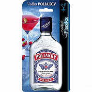 Poliakov vodka flask 20cl 37,5%vol
