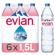 Evian eau minérale naturelle 6x1.5l